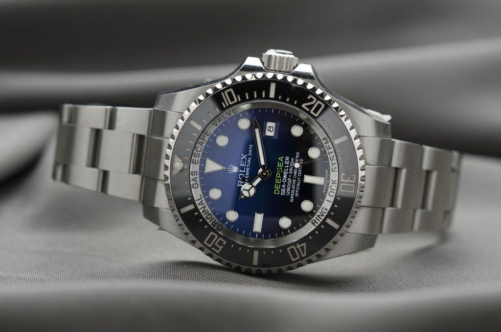 ロレックスの腕時計